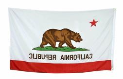 PringCor State of California Republic BIG Flag 3x5FT Polyest