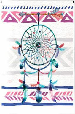 Breeze Decor SW-G-115101-IP Dreamcatcher Garden Flag Double