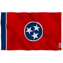 Anley Fly Breeze 3x5 Foot Tennessee State Flag Tennessee TN
