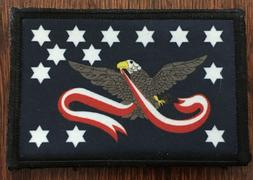The Whiskey Rebellion Flag Morale Patch Tactical Military Ar