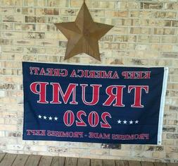 Trump 2020 Flag Made In USA by Annin Flagmakers  Donald Trum