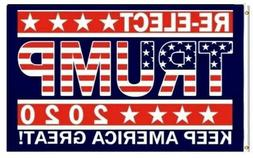 TRUMP 2020 Keep America Great Flag 3x5 with Grommets NICE!