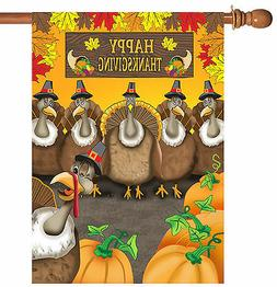 Toland Home Garden Turkey Photobomb 28 x 40 Inch Decorative