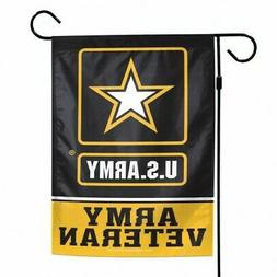 United States Army Veteran Garden Flag US Army Licensed 12.5