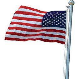 Vestil United States Flag - 6ft.W x 4ft.H, Nylon, Model# AFL