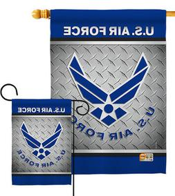 US Air Force USAF Garden Flag Armed Forces Military Veteran