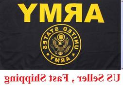 US Army Crest Flag United States Military Banner Polyester 3