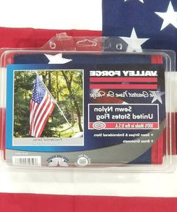 USA Flag 4'x6' Weather Resistant 100% Nylon Perma-Nyl Americ