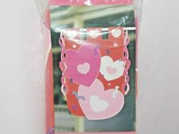 Valentine's Hearts & Streamers Flag Home Decor New 2001 NCE